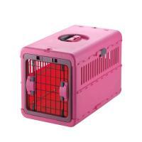 リッチェル キャンピングキャリー 折りたたみ M ピンク 猫 小型犬 キャリー
