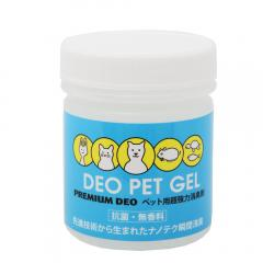 DEO PET GEL ペット用超強力消臭剤 抗菌・無香料 180g 消臭