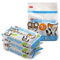 ペットライブラリー inuneru ペットウエットティッシュ 3個パック 犬 猫 ウェットティッシュ