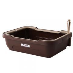 しつけるトイレC-M ブラウン 猫用トイレ