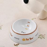 マルカン 犬用陶器食器 犬の行進 S 犬 食器
