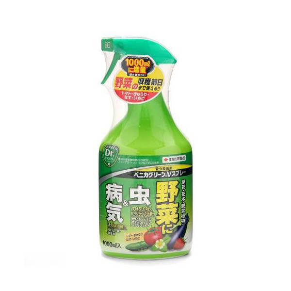 殺虫・殺菌剤 ベニカグリーンVスプレー 1000mL ハダニ アブラムシ ケムシ