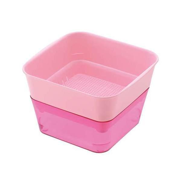 リッチェル スプラウトファーム 12型 ピンク キッチン菜園 ベビーリーフ 室内ガーデニング