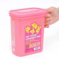 ペットフードカンパニー ミニ ピンク フードストッカー