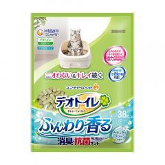 デオトイレ ふんわり香る消臭・抗菌サンド 3.8L 猫 猫砂