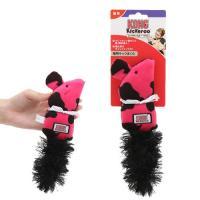 コングキッカルー マウス ピンク 猫用おもちゃ ぬいぐるみ