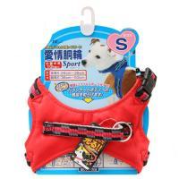 ターキー 愛情胴輪 スポーツ S 赤 小型犬用 10kgまで 犬 胴輪 ハーネス