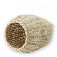 職人が作った 手編み竹かご 大 猫 ハウス 国産 沖縄別途送料