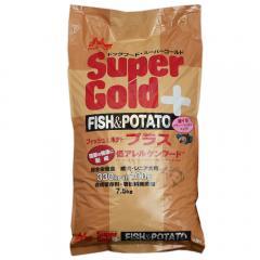 森乳 スーパーゴールド フィッシュ&ポテト プラス 関節 7.5kg ドッグフード