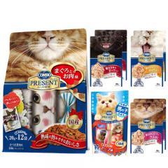 日本ペット コンボ プレゼント キャット ドライフード(まぐろとお肉味)・ウェットフード・おやつのプレゼントセット(男の子用)