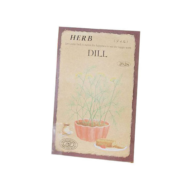 ゆうパケット対応 ハーブ HERB (ディル) 品番:818 家庭菜園 同梱・代引き・着日指定不可