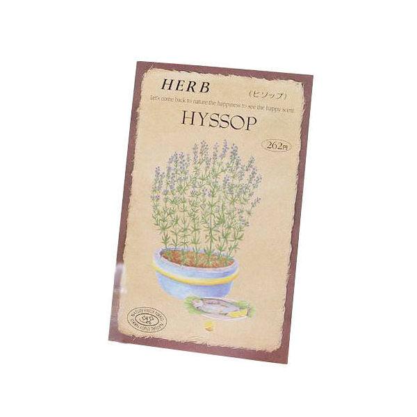 ゆうパケット対応 ハーブ HERB (ヒソップ) 品番:811 家庭菜園 同梱・代引き・着日指定不可