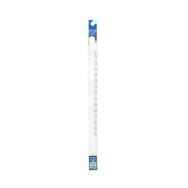 ゆうパケット対応 エンペックス 棒状温度計 水銀 30cm -20~105度 同梱・代引き・着日指定不可