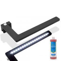 正規品 2個セット 小型水槽用LEDライト FLEXImini ブラック 添加剤セット 沖縄別途送料