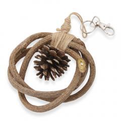 天然素材のかじリース 1個 かじり木 おもちゃ ハンドメイド 国産