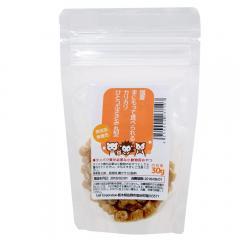 国産 手にもって食べられるカリカリひとつぶささみ 丸型 30g タンパク質が必要な小動物用 無添加 無着色