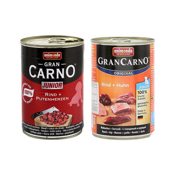 アソート アニモンダ ドッグ グランカルノ ジュニア 400g 2種2缶 正規品