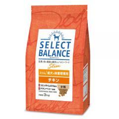 セレクトバランス スリム チキン小粒 成犬の体重管理用 3kg