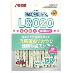 サンライズ ゴン太の歯磨き専用ガムSSサイズ L8020乳酸菌入り クロロフィル入り 低脂肪 150g