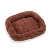 ペットプロ マイライフベッド SS ダークブラウン 犬 猫 ベッド あったか