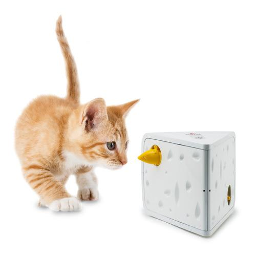 フローリーキャット チーズ 猫 電動おもちゃ