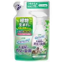 ライオン シュシュット! お部屋の消臭&除菌 ミントの香り 詰め替え用 320ml