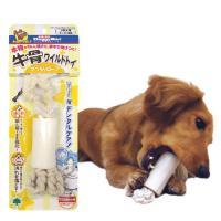 ドギーマン 牛骨ワイルドトイ がっちりロープ 小型犬用