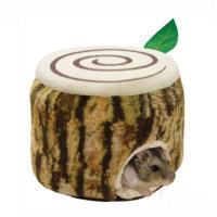 ミニアニマン ハムスターのふわふわ きりかぶベッド 小動物 ハウス