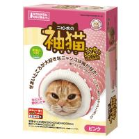 マルカン ニャン太の袖猫 ピンク