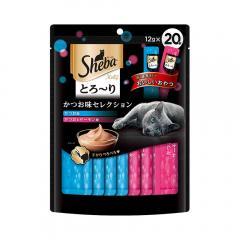 シーバ とろ~り メルティ かつお味セレクション 12g×20P