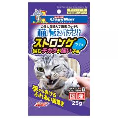キャティーマン 猫ちゃんホワイデント ストロング ツナ味 国産 25g 6個入り