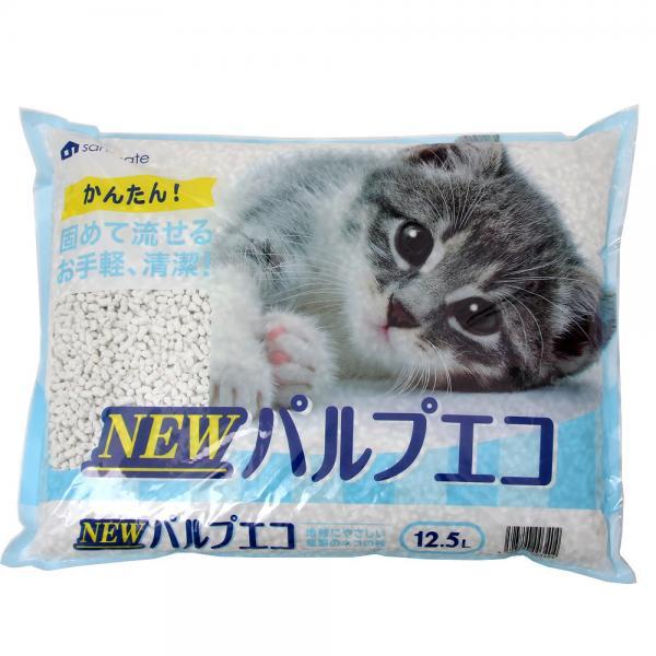 猫砂 サンメイト NEWパルプエコ 12.5L 4袋入り お一人様1点限り