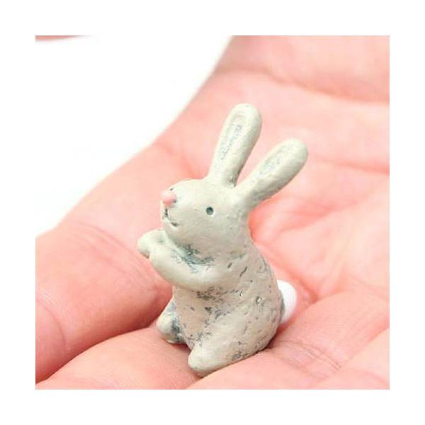 ガーデンマスコット ウサギ S 2個
