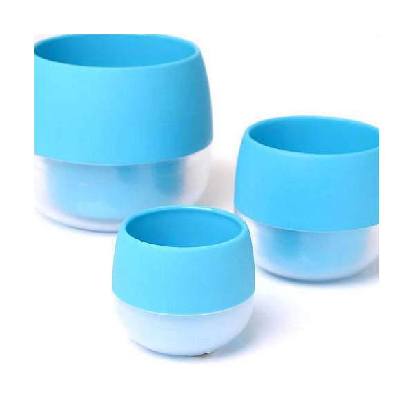 リトル ビビ 鉢(ライトブルー)φ4.5×5cm 2個