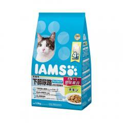 アイムス 成猫用 下部尿路とお口の健康維持 チキン 1.5kg キャットフード 正規品 IAMS お一人様10点限り