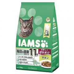 アイムス 11歳以上用 毎日の健康サポート チキン 1.5kg キャットフード 正規品 IAMS