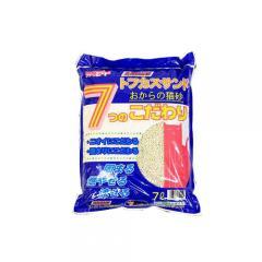 猫砂 お一人様1点限り トフカスサンド 7L 1箱4袋入り 流せるおからの猫砂 固まる 燃やせる 流せる