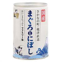 たまの伝説 まぐろとにぼし ファミリー缶 405g 24缶入り キャットフード 国産 三洋食品