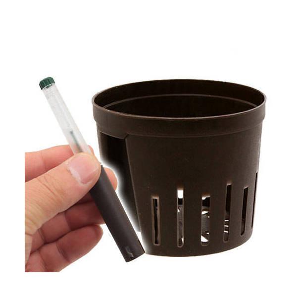 ハイドロカルチャー用 水位計 + 内容器(Φ8cm×H6.8cm)セット
