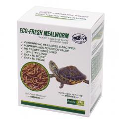プロバグズ 真空生昆虫 ミルワーム 1箱(20g×10袋入) PROBUGS ECO-FRESH MEALWORM