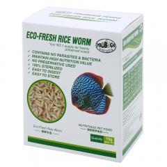 プロバグズ 真空生昆虫 ライスワーム 1箱(15g×10袋入) PROBUGS ECO-FRESH RICEWORM