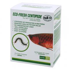 プロバグズ 真空生昆虫 ムカデ 1箱(2匹×10袋入) PROBUGS ECO-FRESH CENTIPEDE