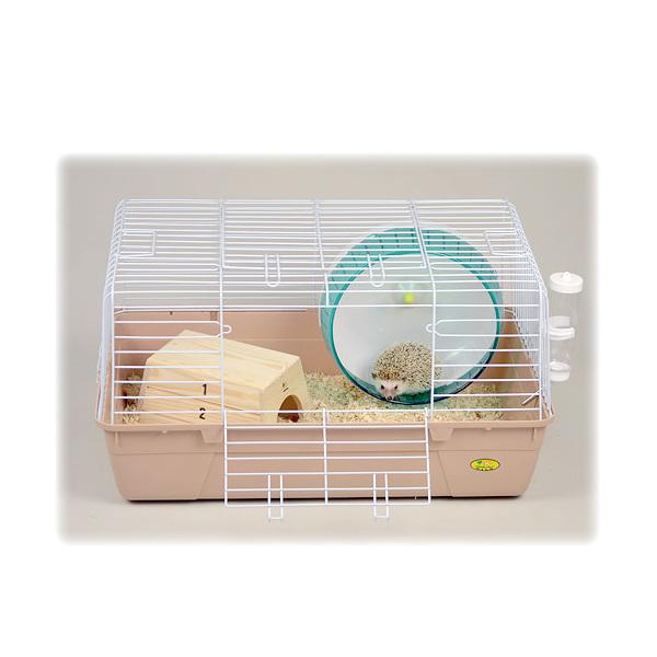 三晃商会 SANKO はじめてのハリネズミ飼育セット ケージ 床材 回し 2個口 個口ごとに別途送料 沖縄別途送料