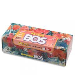 驚異の防臭袋BOS箱型(Mサイズ90枚入)
