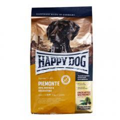 HAPPY DOG ピエモンテ 栗、ダッグ&シーフィッシュ 4kg 正規品 中・大型犬 成犬~シニア犬 沖縄別途送料