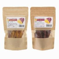 おやつ2種食べ比べセット 国産 安納芋の焼きいもスティック80g&紅はるかの焼きいもスティック80g 2種×1袋ずつ