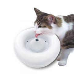 GEX ピュアクリスタル セラミックス 猫用 1.5L 循環式給水器