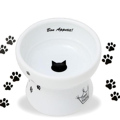 猫壱 ハッピー おやつ皿 猫柄 食器
