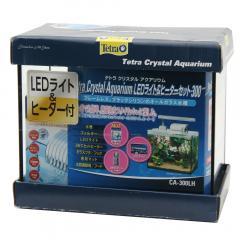 テトラ クリスタルアクアリウム LED&ヒーター付きセット300 お一人様1点限り