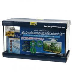 テトラ クリスタルアクアリウム LED&ヒーター付きセット520 お一人様1点限り 沖縄別途送料
